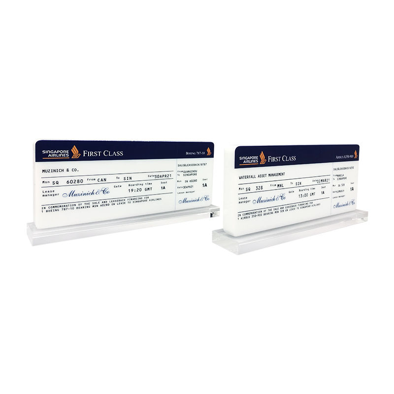 Airline Boarding Pass-Themed Deal Toy