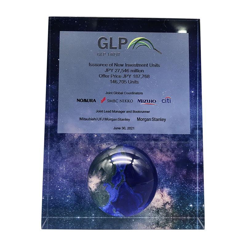 Globe-Inspired Custom Crystal